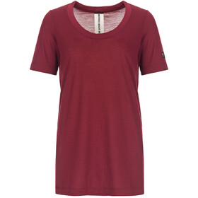 super.natural Oversize Camiseta Mujer, pomegranate